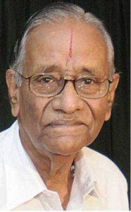 Water expert Mohanakrishnan